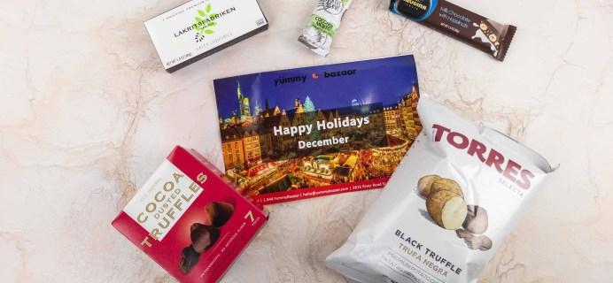 December 2017 Yummy Bazaar Subscription Box Review – Mini Box