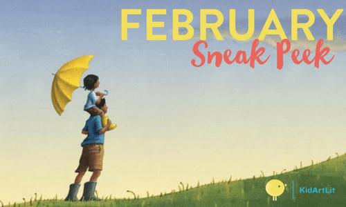 KidArtLit February 2018 Spoiler + Coupon!