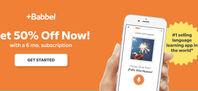 Babbel Cyber Monday Deal: Get 50% Off 6+ Month Subscriptions!