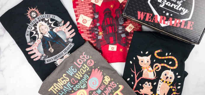 Geek Gear World of Wizardry Wearables Subscription Box Review + Coupon – January 2018