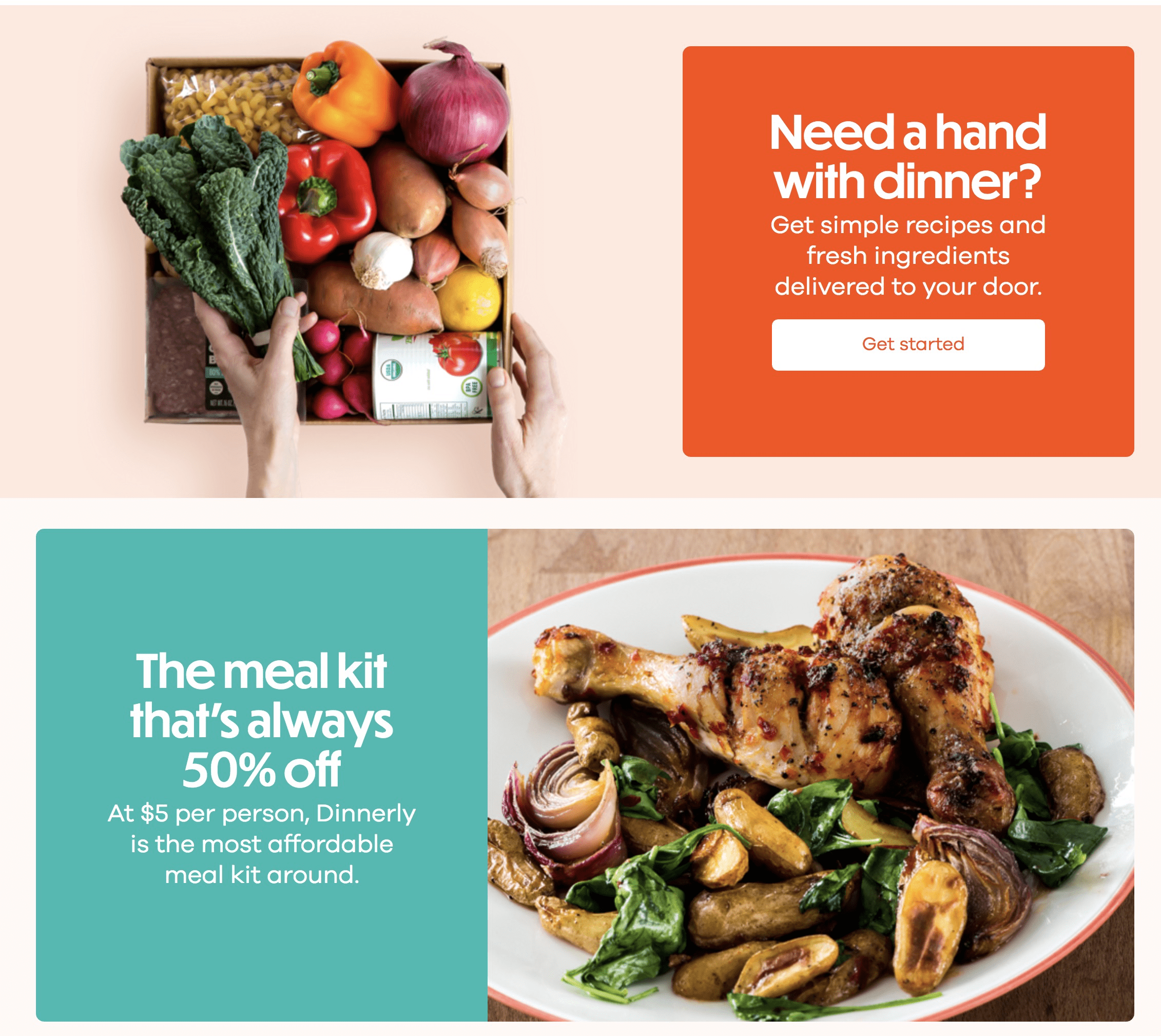 Dinnerly Coupon: Get $10 Off On Your First 4 Orders + Thanksgiving Meals  Available Now! - hello subscription