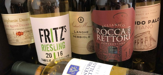 Blue Apron Wine Subscription Box Review – February 2018
