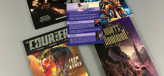 Comic Bento January 2018 Subscription Box Review + Coupon