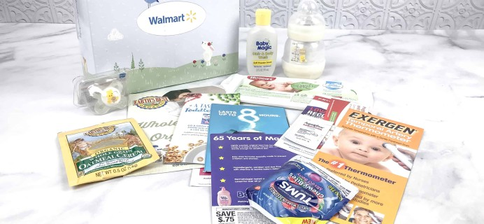 Walmart Baby Box Review: Newborn-Infant Box