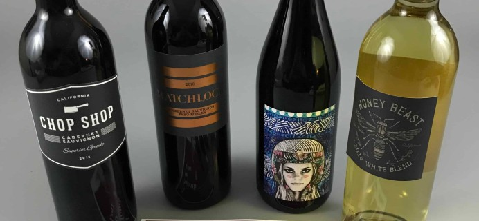 Winc February 2018 Subscription Box Review & Coupon