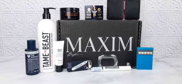 The Maxim Box February 2018 Giveaway!