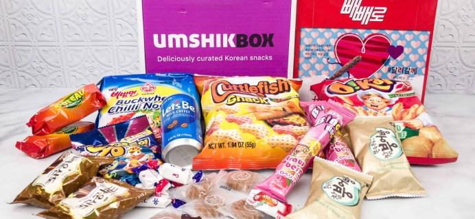 Umshik Box February 2018 Subscription Box Review + Coupon