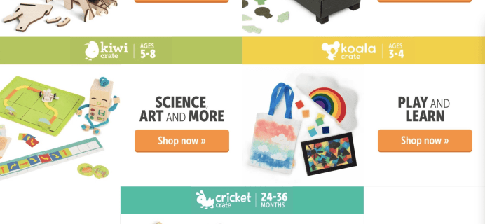 KiwiCo Summer Sale: Get 15% Off 3 Months Or Longer Subscriptions!
