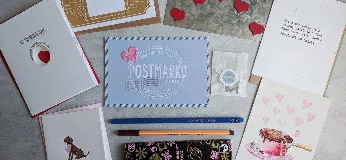 PostBox Subscription Box Review + Coupon – February 2018