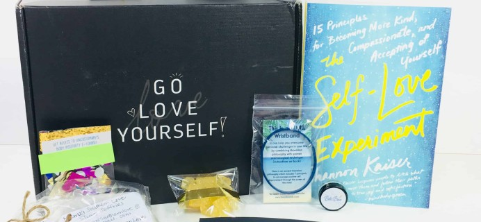 Go Love Yourself February 2018 Subscription Box Review + Coupon