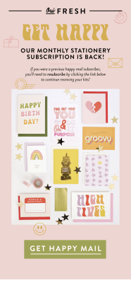 New Subscription Boxes: Oui Fresh Happy Mail + February 2018 Full Spoilers!