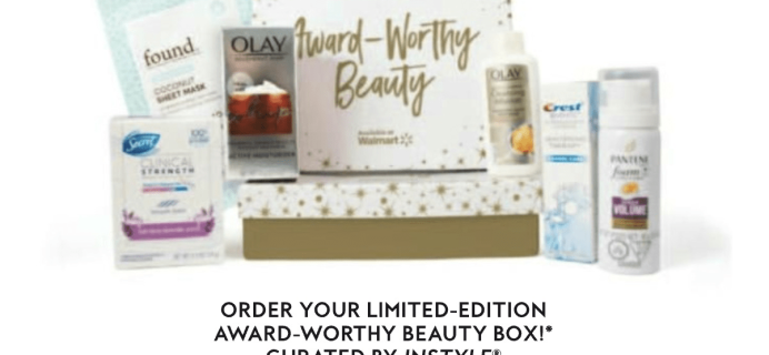 Walmart Beauty + InStyle Box Launching 2-26 + Full Spoilers!