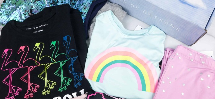 Rockets of Awesome Spring 2018 Subscription Box Review – Girls!