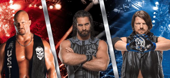 WWE Slam Crate April 2018 Full Spoilers + Coupons!