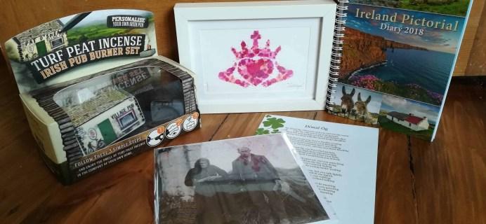 My Ireland Box Subscription Box Review – February 2017