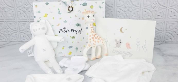 My Petite French Box Newborn Gift Box Review