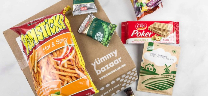 February 2018 Yummy Bazaar Subscription Box Review – Mini Box