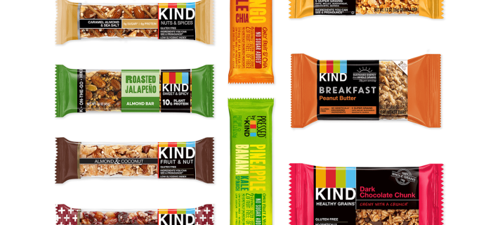Newest Subscription Boxes: Kind Snack Club + First Box Free Coupon {$5.95 Shipped}!
