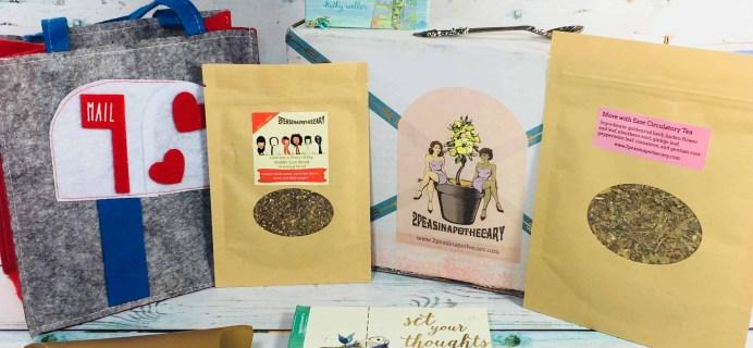 Teapsy Box February 2018 Subscription Box Review