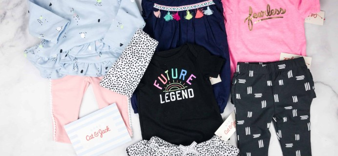 Target's Cat & Jack Baby Outfit Box Subscription Box Review – Spring 2018