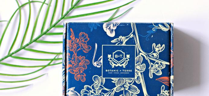 Botanic + Terre Summer 2019 Deluxe Box Full Spoilers!