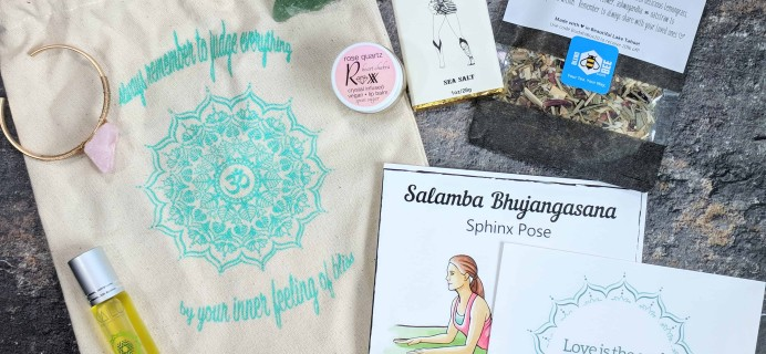 BuddhiBox Yoga Subscription Box Review + Coupon – February 2018