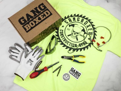 GANGBOXED February 2018 Subscription Box Review + 50% OFF Coupon!