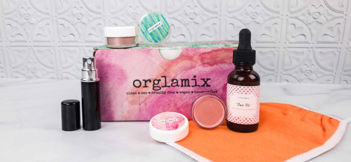 Orglamix February 2018 Subscription Box Review & Coupon