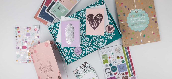 Erin Condren Seasonal Surprise Box Spring 2018 Giveaway!