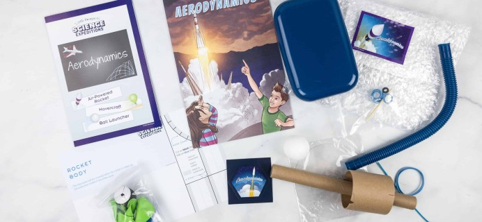 Little Passports Science Expeditions Subscription Box Review – Aerodynamics