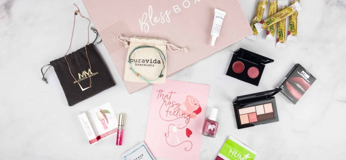 Bless Box February 2018 Subscription Box Review & Coupon
