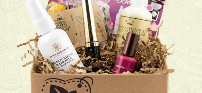 November 2017 Vegan Cuts Beauty Box Giveaway!