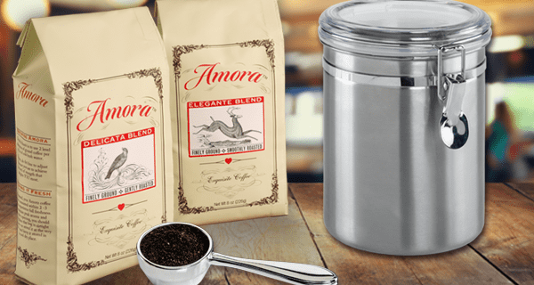 Amora Coffee Deals: Get Your First Coffee Bag Free!