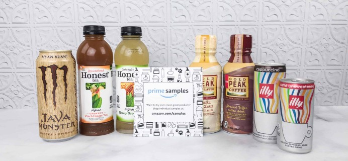 Amazon Coffee & Tea Sample Box Review