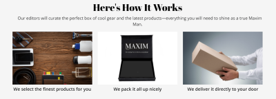 New Subscription Boxes: The Maxim Box Available Now + 10% Off Coupon!