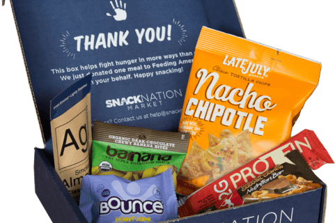 SnackNation Deal: Get 6 Snacks For Only $1!