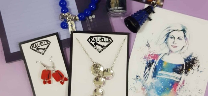 Kal-Elle Fandom Monthly January 2018 Subscription Box Review
