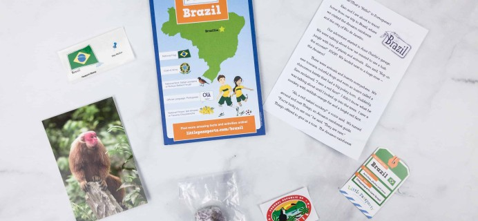 Little Passports World Edition Subscription Box Review + Coupon – BRAZIL