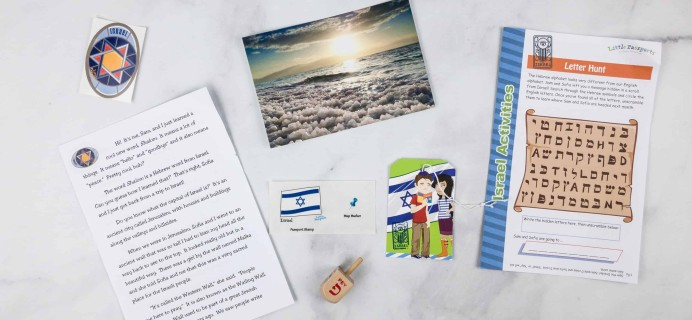 Little Passports World Edition Subscription Box Review + Coupon – ISRAEL