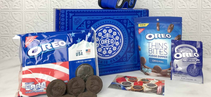 OREO Cookie Club February 2018 Subscription Box Review
