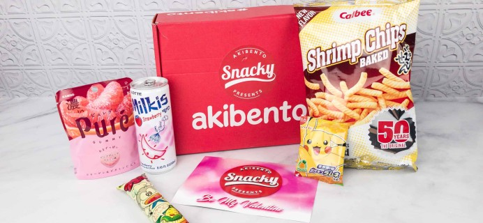 Snacky By Akibento February 2018 Subscription Box Review + Coupon