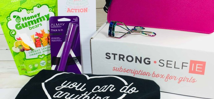STRONG selfie Subscription Box Review – Spring 2018 BURST(box)