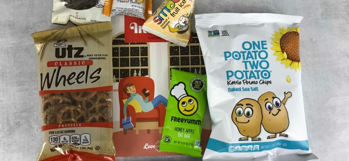 Love With Food February 2018 Tasting Box Review + Coupon!