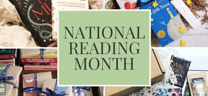 Book Subscription Boxes for National Reading Month