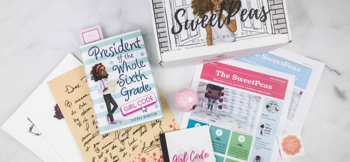 The SweetPeas March 2018 Subscription Box Review
