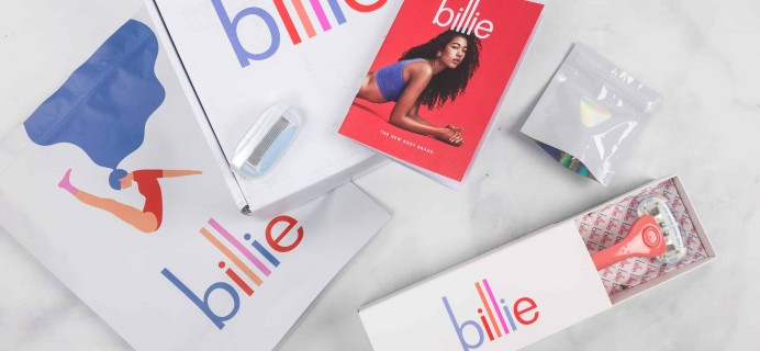 Billie Razor Subscription Box Review