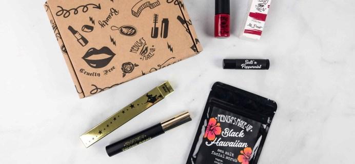 Medusa's MakeUp Beauty Box Subscription Box Review – March 2018