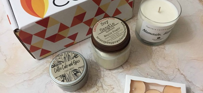 Candlr Box March 2018 Subscription Box Review + Coupon!