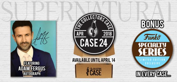 The Collectors Case April 2018 Spoilers!