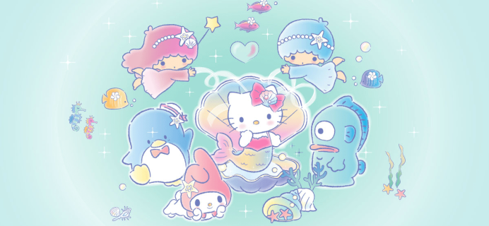 Sanrio Small Gift Crate Summer 2018 Full Spoilers!